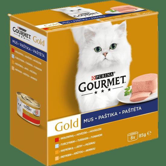 Gourmet Gold Multipack 12x(8x85g) - paštete
