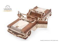 UGEARS 3D mechanické puzzle Dream Cabriolet VM-05 735 ks