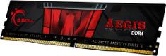 G.Skill RAM G.SKill Aegis, 8GB DDR4, 3200MHz, CL16 (F4-3200C16S-8GIS)