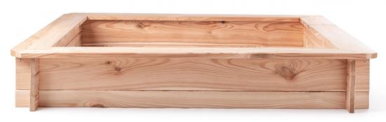 Woody Pískoviště dřevěné - čtvercové, natur