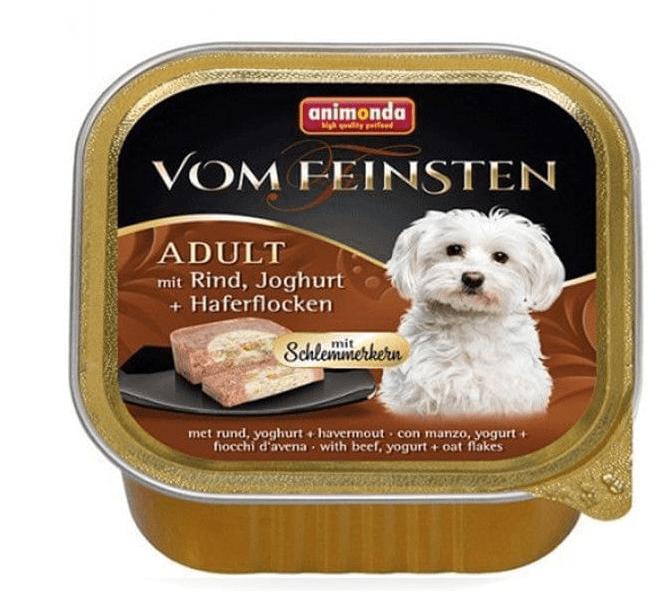 Animonda V.Feinsten CORE hovězí, vejce + šunka pro psy 22x150 g