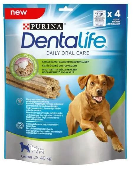 Purina DentaLife – LARGE 5 x 142 g