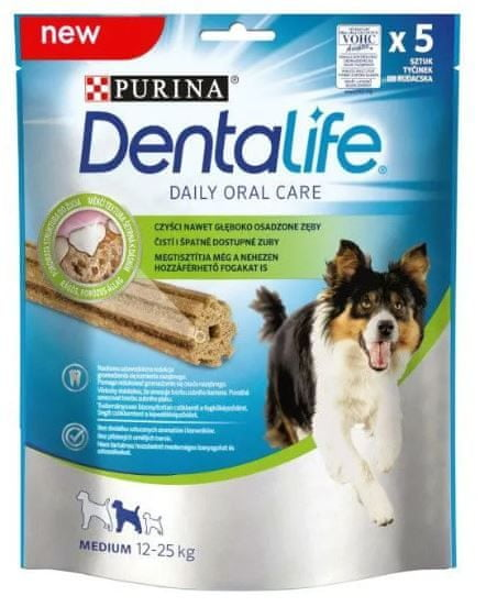 Purina DentaLife – MEDIUM 5 x 115 g