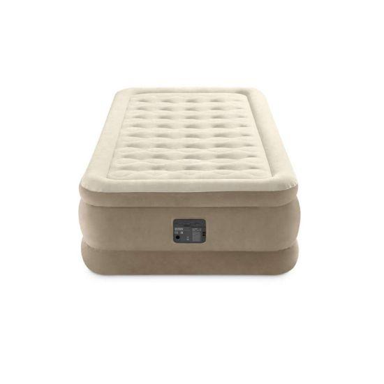 Intex napihljiva postelja Twin Ultra Plush Fiber Tech