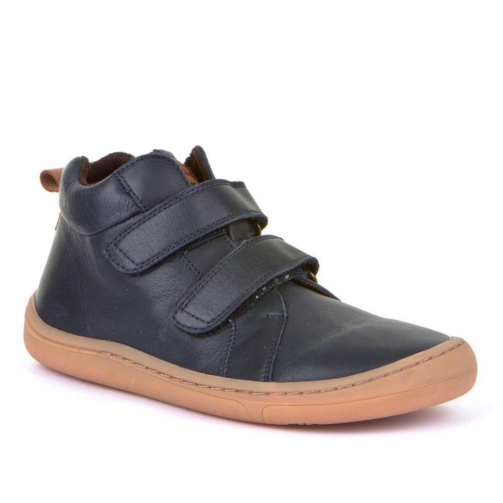 Froddo Dětská kotníková barefoot obuv G3110169 33 tmavě modrá