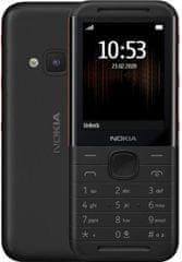 Nokia 5310, Dual SIM, Black/red