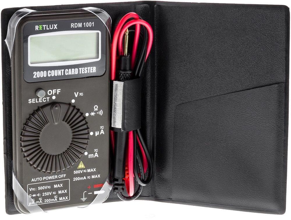 Retlux RDM 1001 Digitální multimetr (50002706)