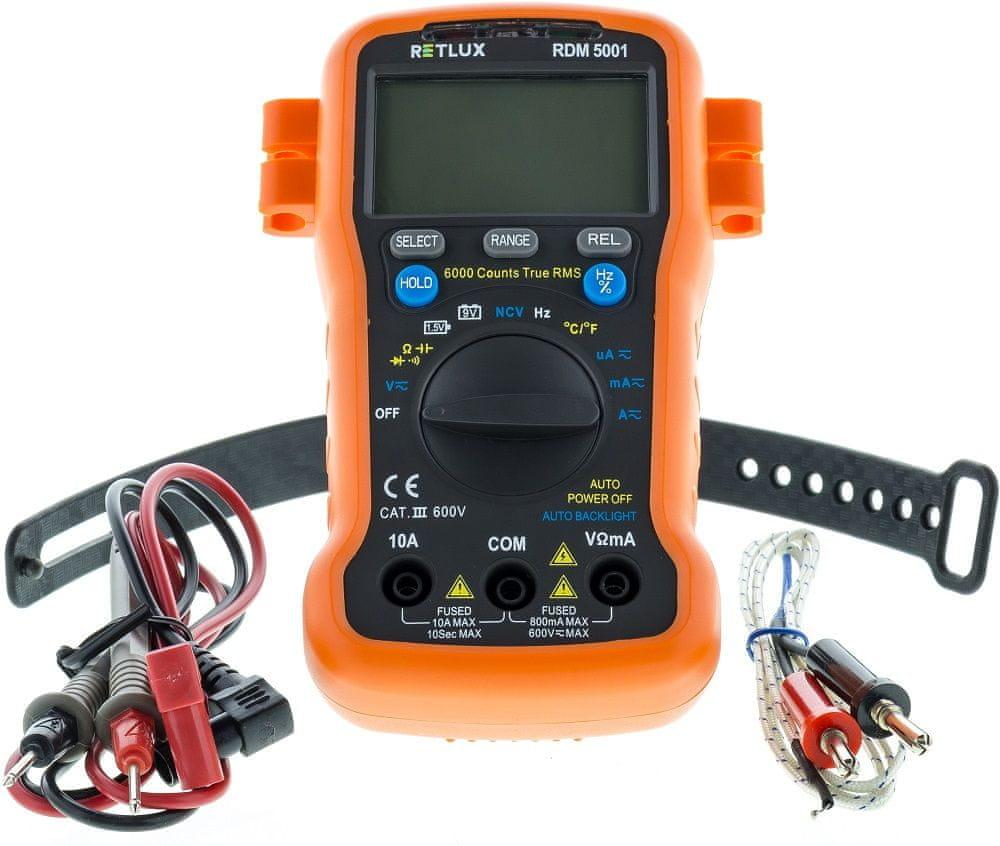 Retlux RDM 5001 Digitální multimetr (50002705)