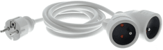 Retlux RPC 100 Dvojzásuvka, IP20, 2 m (50003581)
