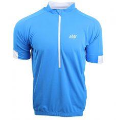 Wista Cyklistický dres WISTA pánský modrá/bílá M