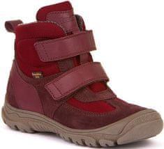 Froddo dívčí zimní obuv G3110165-6 29, bordó