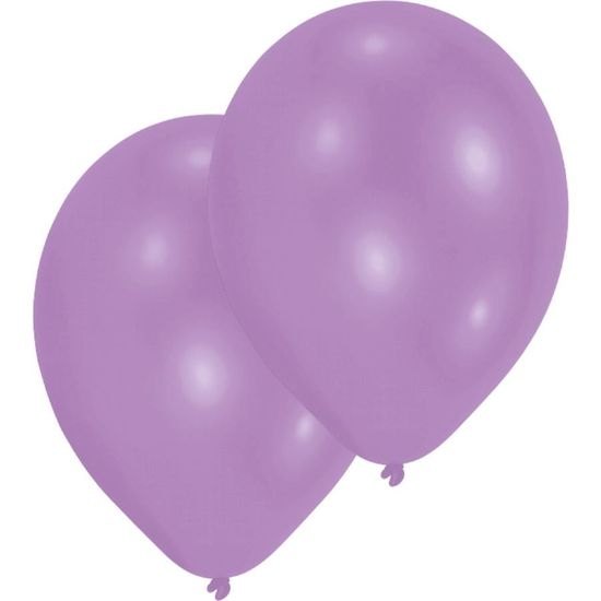 Amscan Latexové balónky fialové 10ks 27,5cm