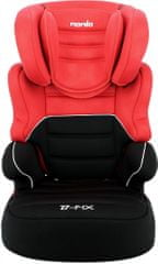 Nania otroški avtosedež Befix SP LX Red 2020, rdeč