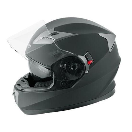 A-Pro Badge čelada, mat črna
