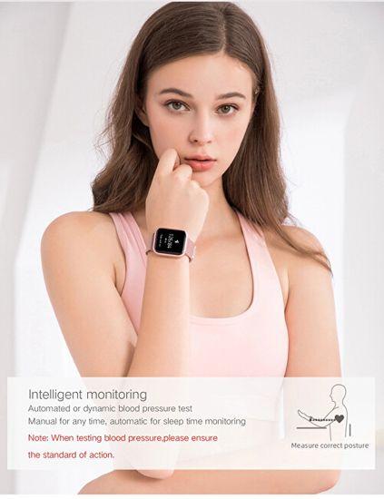 Wotchi SmartWatch SET W08P + silikonový řemínek