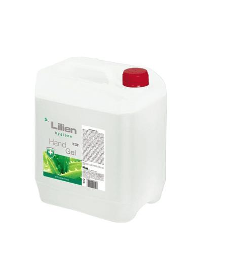 Stojanynadezinfekci Bezoplachový antibakteriální gel na ruce s výtažky z Aloe Vera 5L