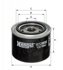 Hengst Filter Olejovy filtr H12W08