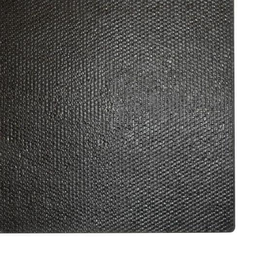 shumee fekete kókuszrost lábtörlő 17 mm 100 x 300 cm
