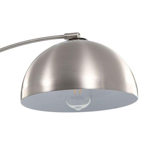 shumee Lampa łukowa, 60 W, srebrna, E27, 170 cm