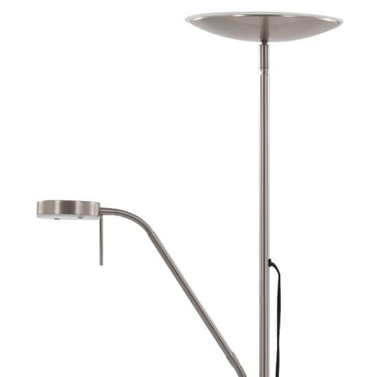 shumee Lampa stojąca, 16 W, srebrna, 180 cm