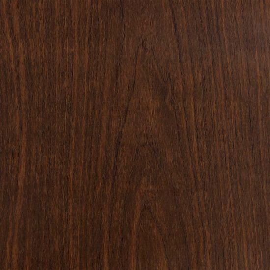shumee 2 db sötét tölgyszínű öntapadó PVC ajtófólia 500 x 90 cm