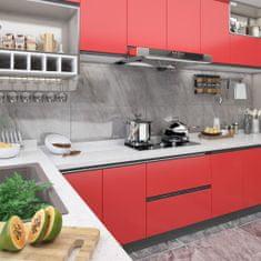 shumee Okleina meblowa samoprzylepna, czerwona, 500x90 cm, PVC