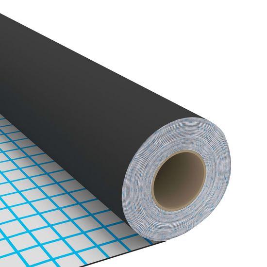 shumee Samolepilna folija za pohištvo 2 kosa črna 500x90 cm PVC