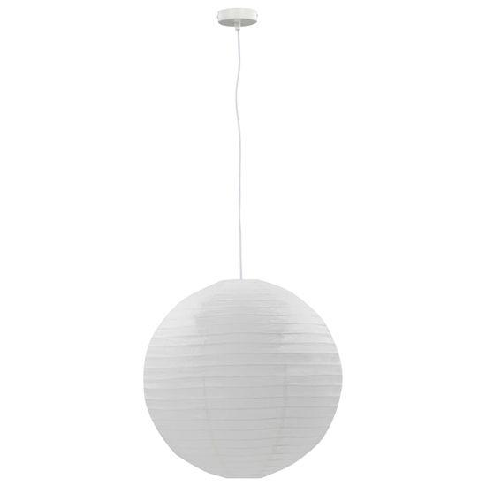shumee Viseča svetilka bela Ø60 cm E27