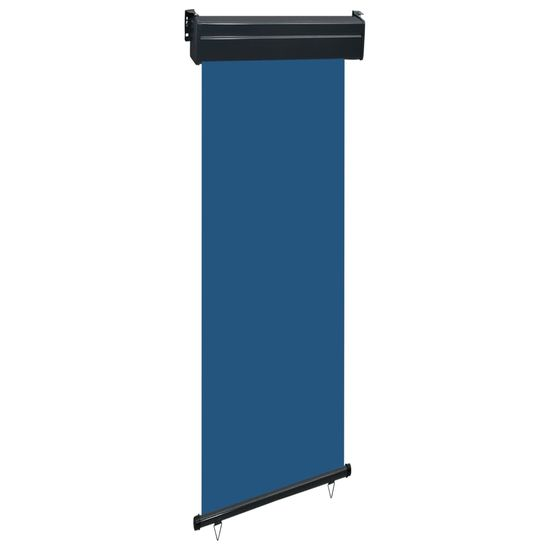 shumee Markiza boczna na balkon, 60 x 250 cm, niebieska