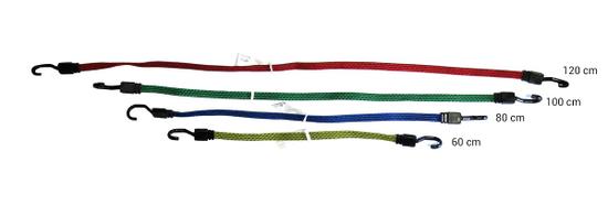 Ramda Elastika za privezivanje, 60/80/100/120 cm, 4 kosi