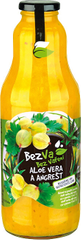 BezVa 1000 ml (Příchuť Aloe Vera a Angrešt)