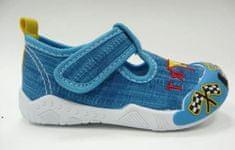 V+J fiú cipő 130-0055-T1, 19, kék