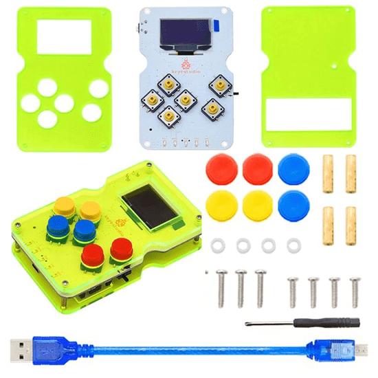 Keyestudio Arduino herní konzole