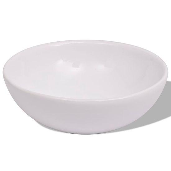 shumee 3-Delni Komplet Kopalniškega Pohištva z Umivalnikom Črne Barve