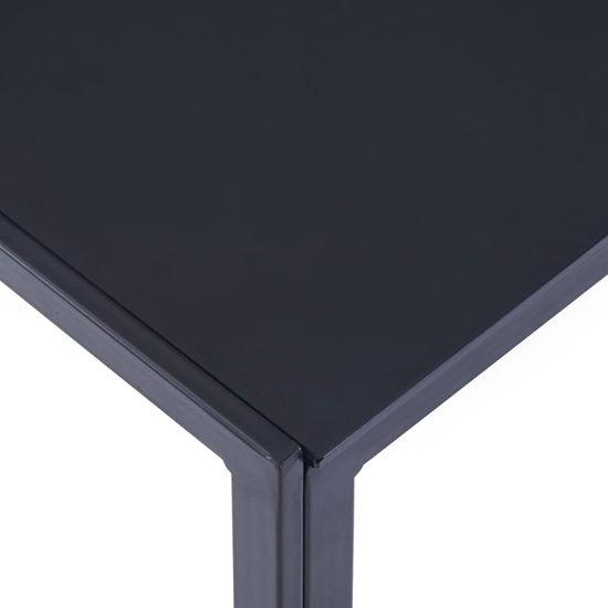 shumee 5-częściowy zestaw mebli do jadalni, niebieski