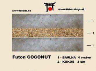 futons.cz FUTON provedeni coconut (kokos)