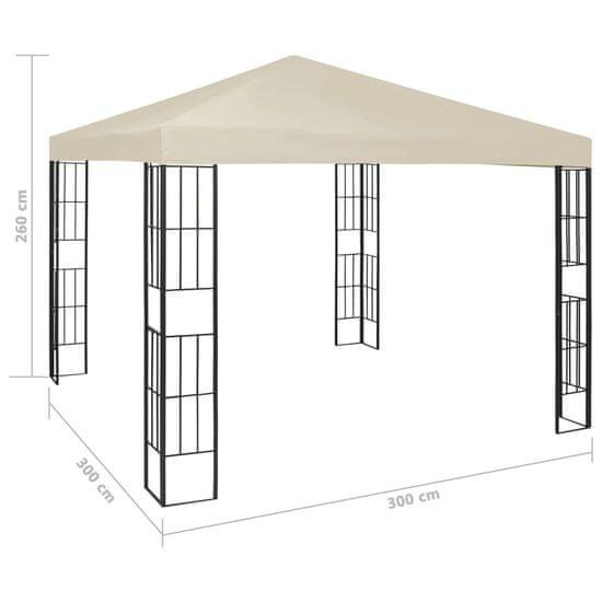 shumee Paviljon 3x3 m krem
