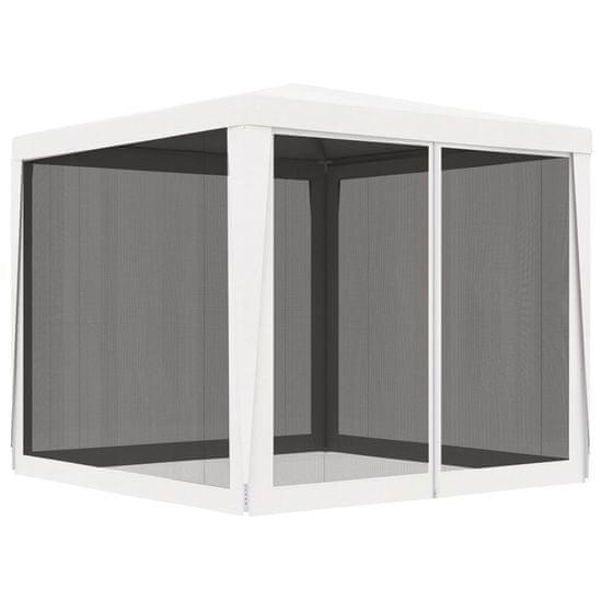 shumee fehér partisátor 4 hálós oldalfallal 2,5 x 2,5 m