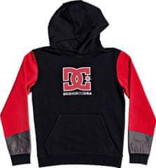 DC chlapčenská mikina Bertland Ph Boy B Otlr Kvj0 S, čierna/červená