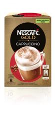 NESCAFÉ Cappuccino, manj sladkan okus, 6 x 125 g