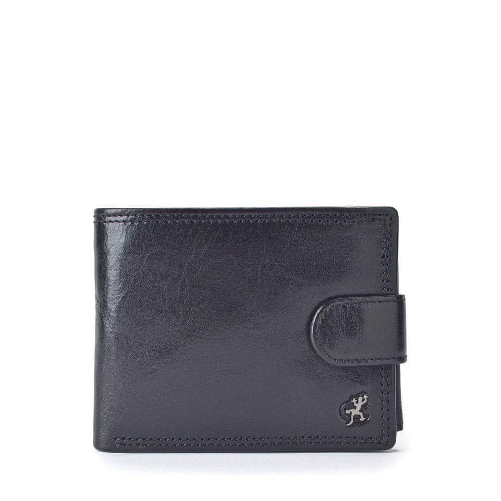 COSSET černá pánská peněženka 4487 Komodo C