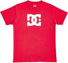 DC chlapecké triko Star Tee Ss Boy B Tees Rqr0 M, červená