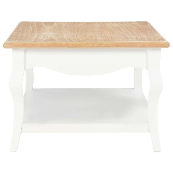 shumee fehér MDF dohányzóasztal 110 x 60 x 40 cm