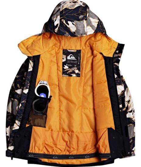 Quiksilver chlapčenská bunda Mission Blk Yth B Snjt Nkp2