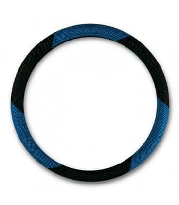 Bottari Mrežasti presvlaka volana, crno-plava