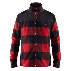 Fjällräven Canada Wool Padded Jacket M, rdeča, m