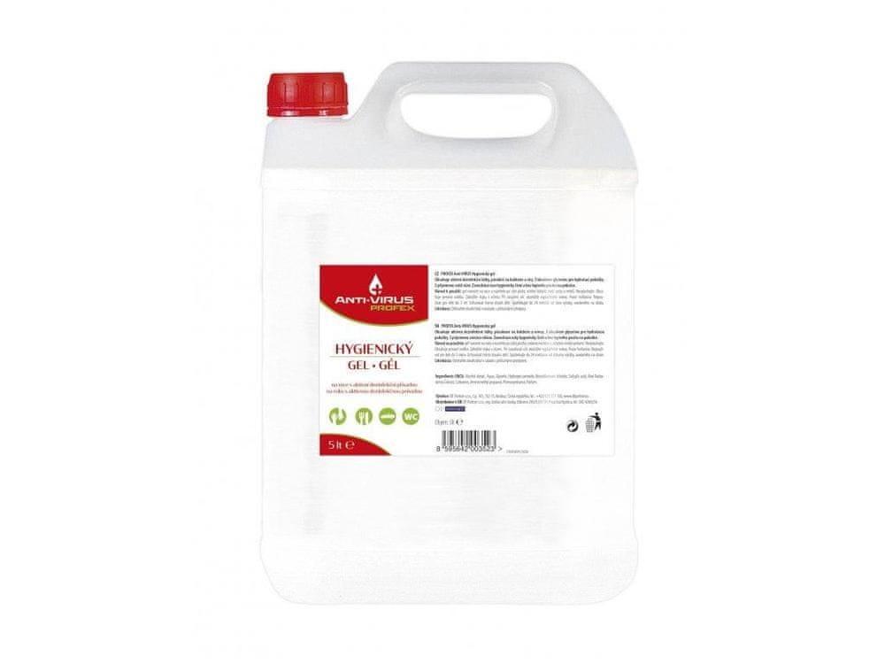 DF Chemie Dezinfekční bezoplachový gel na ruce PROFEX 5l