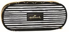 Back Me Up Hallmark Stripes pernica, ovalna