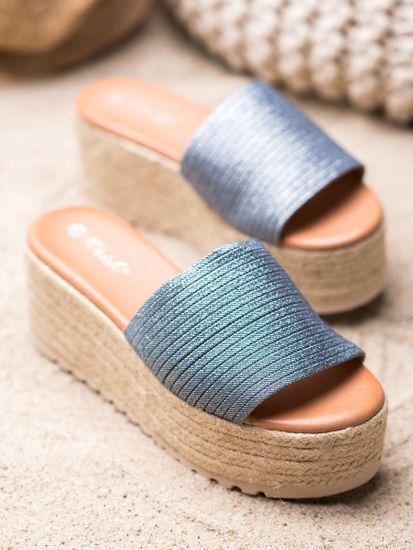 Női papucs 65391 + Nőin zokni Gatta Calzino Strech