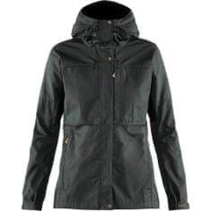 Fjällräven Kaipak Jacket W, siva/črna, xs